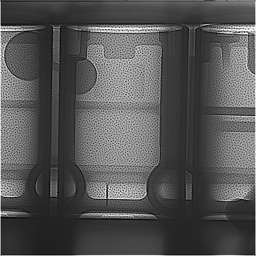 2D X-ray HDR MU2000 Foundry motorblock